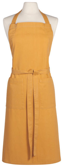 Now Designs Apron Adult Heirloom Stonewash - Ochre