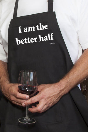 "Apron Adult ""Better Half"""