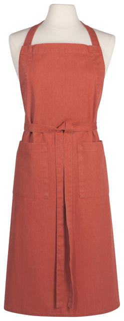 Now Designs Apron Adult Heirloom Stonewash - Clay