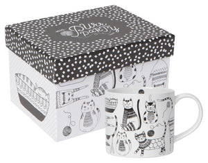 Now Designs Mug in Box 14oz Purr Party