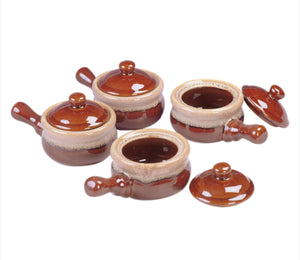 Browne Onion Soup Bowls 4pc Set