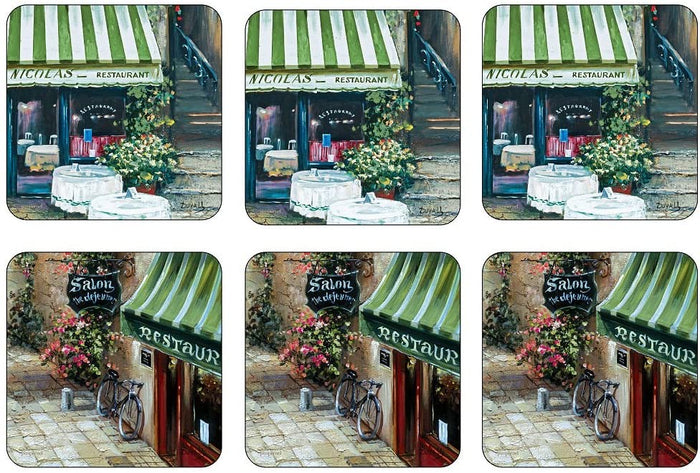 Pimpernel Coasters Set/6 - Trattoria