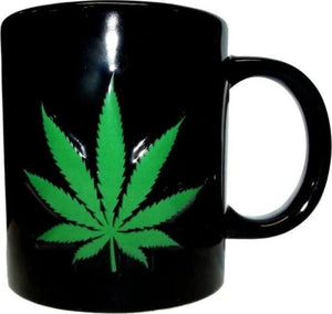 ICUP Marijuana Leaf Embossed Mug 20 oz