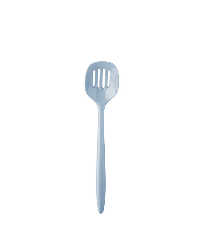 "Rosti Mepal Slotted Spoon 12"", Nordic Blue"