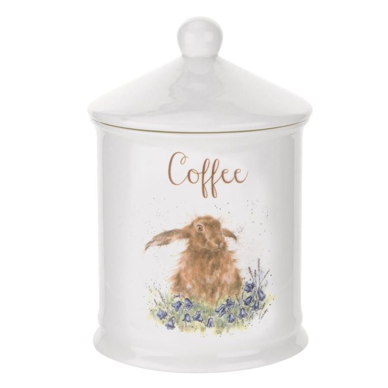Wrendale Coffee Canister, Hare