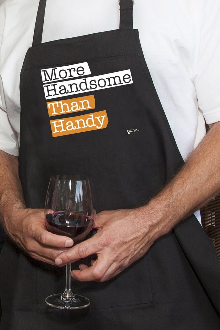 "Grimm Apron Adult ""Handsome"""