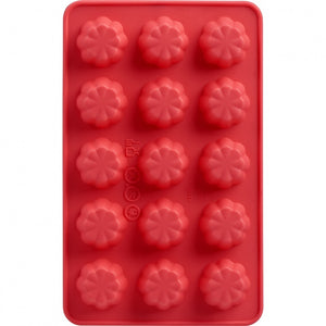 Trudeau Chocolate Mold Set of 2 - Flowers