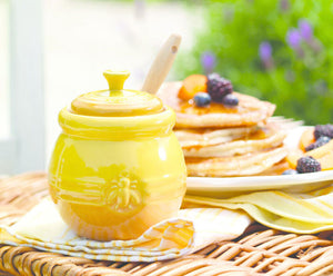 Le Creuset Honey Pot with Silicone Honey Dipper