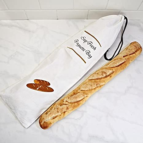 "Home Works Baguette Bread Bag ""Stay Fresh"""