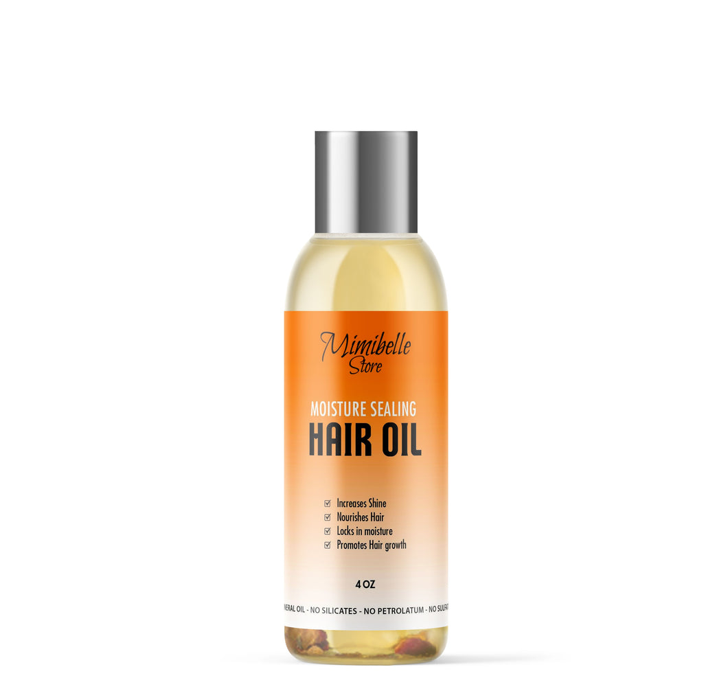 MOISTURE SEALING HAIR OIL