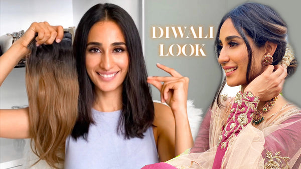 5 Diwali Party Looks With Clip-In Extensions