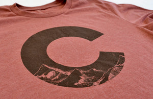 "Colorado ""C"" Heather T-Shirt"
