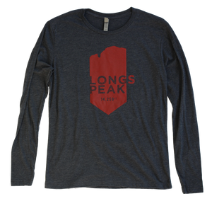 Colorado Longs Peak 14er long sleeve