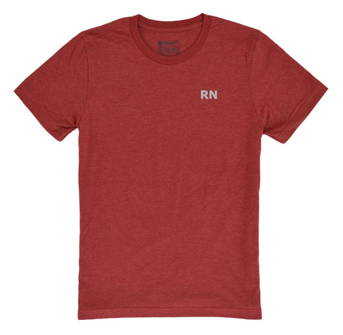 Nurse RN Shirt - Canvas Red