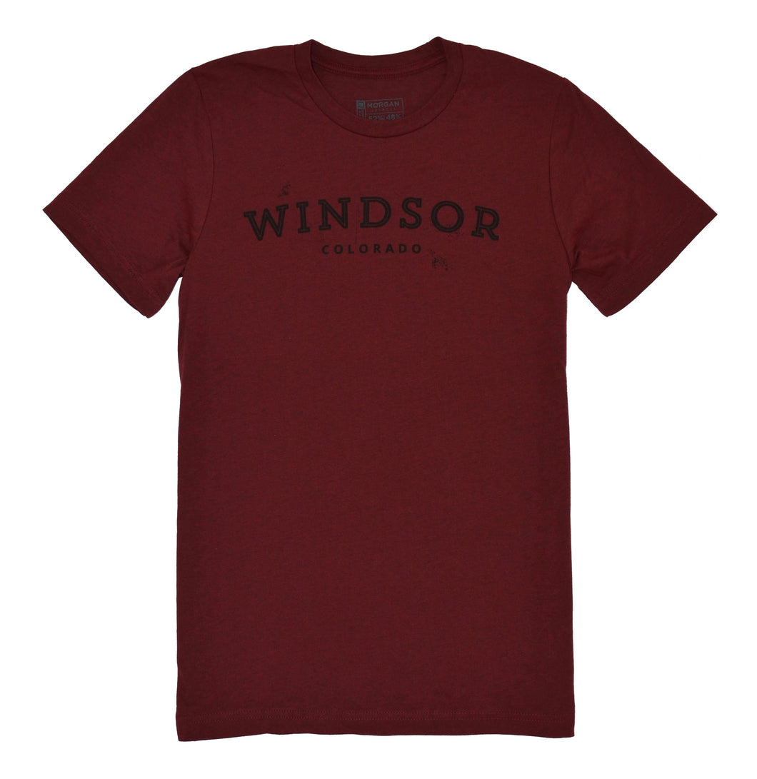 Windsor - Heather Cardinal T-Shirt