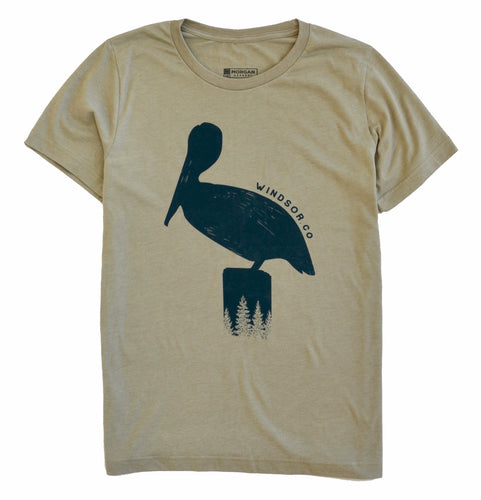 Windsor Pelican Heather Stone T-Shirt