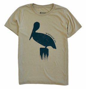 Windsor Pelican Heather T-Shirt