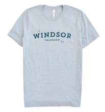 Load image into Gallery viewer, Windsor - Heather Prism Blue T-Shirt