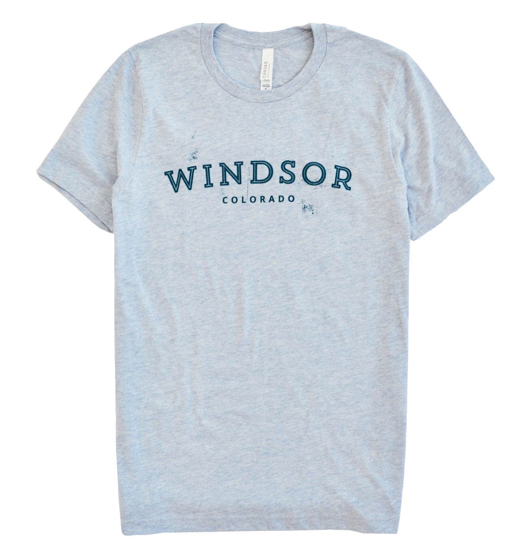 Windsor - Heather Prism Blue T-Shirt