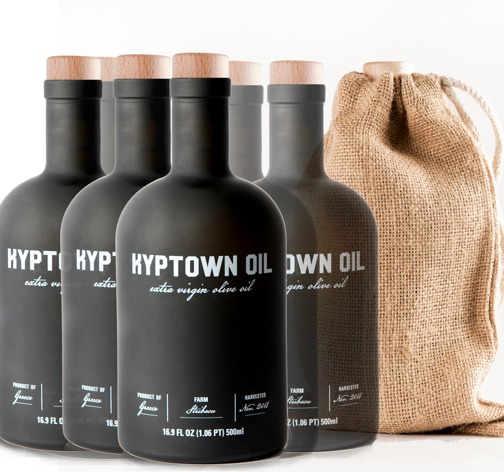 Buy 5, get one FREE! (1 Case) Kyptown EVOO 500ml