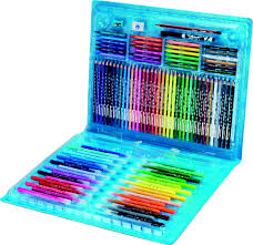 Maped Color Peps 100 Piece Colouring Set An Carry Case