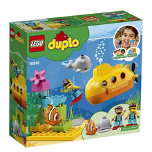 Load image into Gallery viewer, 10910  Duplo, submarine adventure.