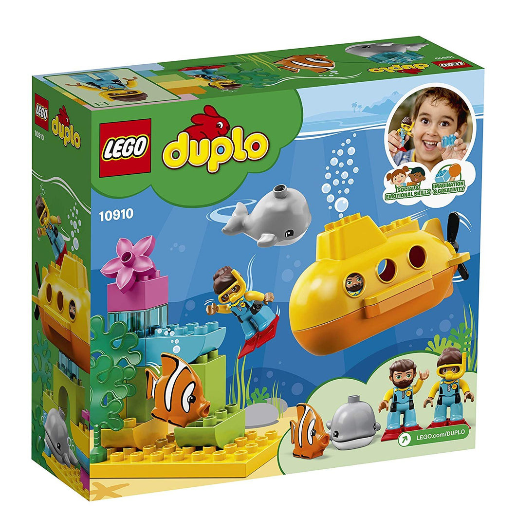 10910  Duplo, submarine adventure.