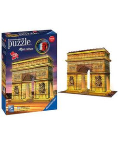 Arc De Triomphe Night Edition 3D Puzzle