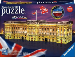 Buckingham Palace Night 3D Puzzle