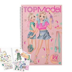 TOP MODEL Dress me up book.