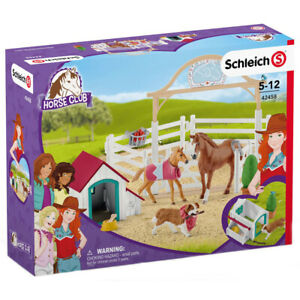 Schleich horse club play set