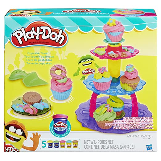 Play-Doh Cupcake tower Play-Doh Shape & style