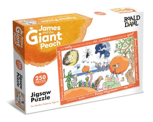 Roald Dahl puzzle james and the giant peach 250 pieces