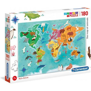 Super colour puzzle 180 pieces
