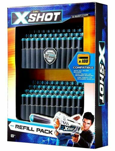 X-Shot refill pack darts 100 pieces
