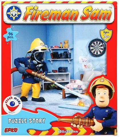 Fireman Sam Puzzle 96 pieces