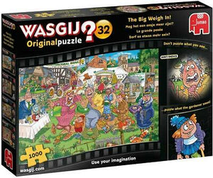 Wasgij puzzle the big weigh in, 1000 piece
