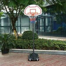 Load image into Gallery viewer, Sportcraft Junior Adjustable Basketball Net With Stand