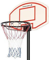 Sportcraft Junior Adjustable Basketball Net With Stand