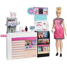 Load image into Gallery viewer, Mattel Barbie Coffee Shop Playset