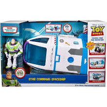 Load image into Gallery viewer, Disney Pixar Toy Story Buzz Lightyear's Star Command Toy Spaceship, 21-inch