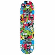 Load image into Gallery viewer, Xootz Chompers 31″ Double Kick Skateboard