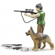 Bruder bWorld Forester with Dog & Equipment (62660)