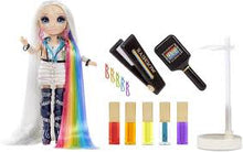 Load image into Gallery viewer, ‎ Rainbow High Hair Studio Exclusive Doll with Rainbow Hair &  Washable Hair Colour