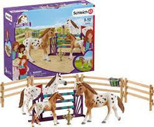 Load image into Gallery viewer, Schleich Horse Club Lisa's Tournament (42433)