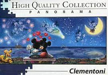 Load image into Gallery viewer, Clementoni - Mickey & Minnie 1000pc Panorama Puzzle