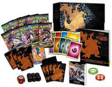 Load image into Gallery viewer, Pokemon Trading Card Game Champion's Path Gigantamax Charizard Elite Trainer Box [10 Booster Packs, Promo Card, 65 Sleeves, 45 Energy Cards & More]