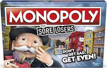 Load image into Gallery viewer, Monopoly For Sore Losers Boardgame