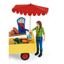 Load image into Gallery viewer, Schleich 42528 Sunny Day Mobile Farm Stand