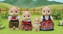 Load image into Gallery viewer, Sylvanian Families Caramel Dog Family